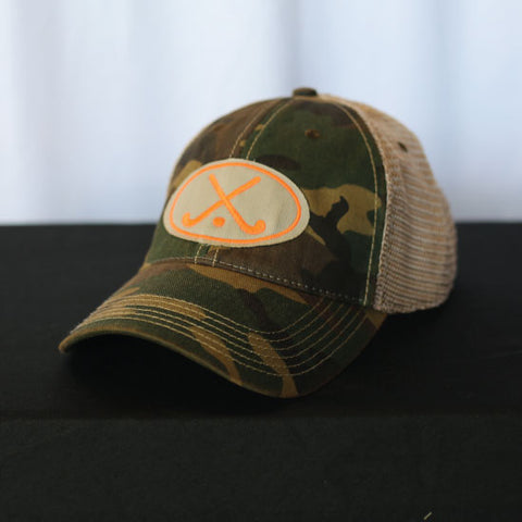 Field Hockey - Camo Field Hockey Trucker Hat