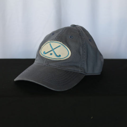 Field Hockey - Grey and Blue Field Hockey Hat