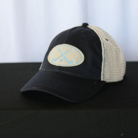 Field Hockey - Navy Field Hockey Trucker Hat