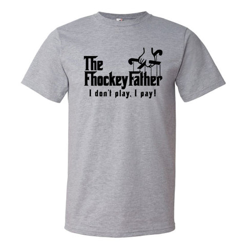 Field Hockey - Fhockey Father Sport Grey Short Sleeve Tee
