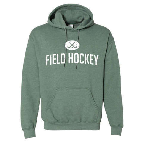 Field Hockey Green Heather Hoodie
