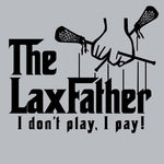 Lacrosse - Lax Father Sport Grey Short Sleeve