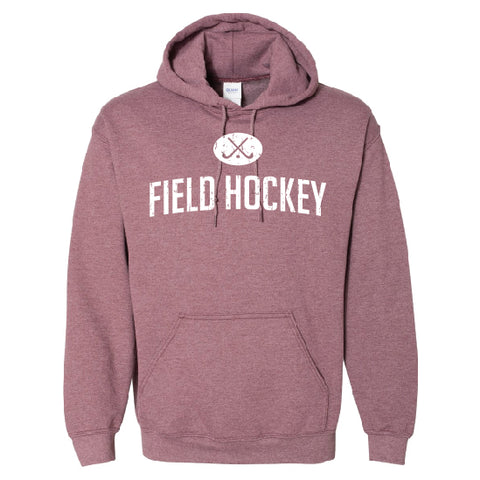 Field Hockey Maroon Heather Hoodie