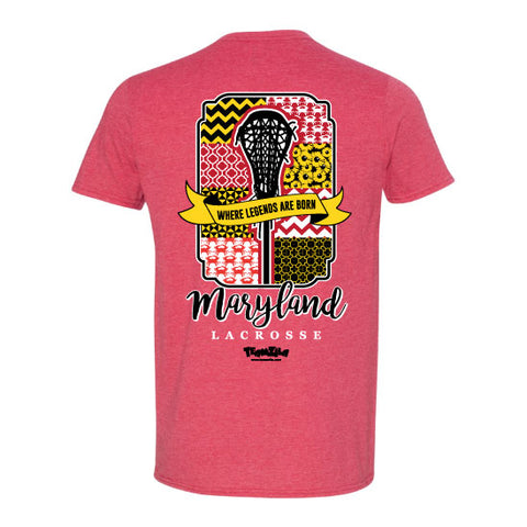 Lacrosse - Maryland Legends Lacrosse  Short Sleeve Tee