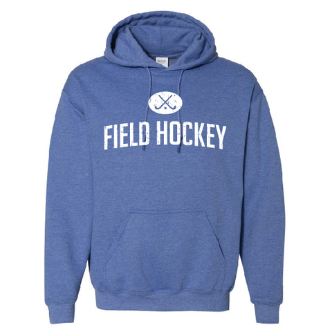Field Hockey Royal Heather Hoodie