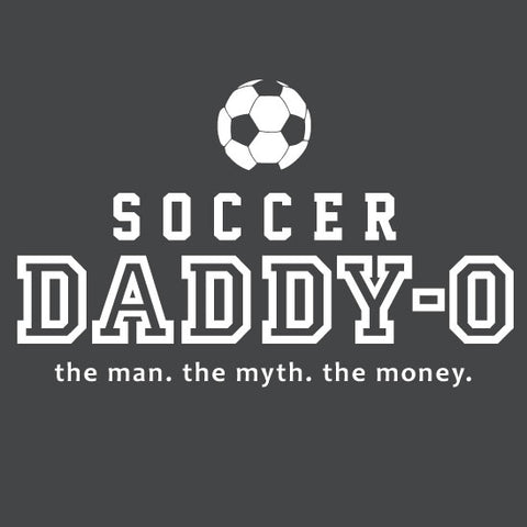 Soccer - Soccer Daddy-O Dark Heather Short Sleeve