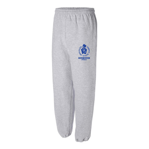 Keystone State Games - Sport Grey Sweatpants with Cuffed Bottoms