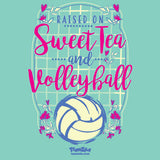 Volleyball - Sweet Tea and Volleyball Short Sleeve Tee