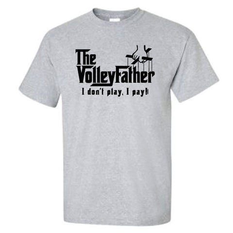 Volleyball - Volleyfather Sport Grey Heather Short Sleeve