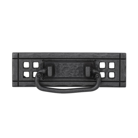 Mission 4-1/4 in. (108mm) Center-to-Center Wrought Iron Bail Drawer Pull