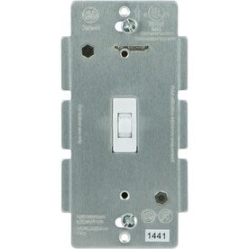 GE Z-Wave/ZigBee/Bluetooth 15-amp 3-Way White Toggle Residential Light Switch - Hardwarestore Delivery
