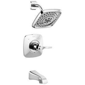 Delta Sawyer 1-Handle Bathtub and Shower Faucet with Valve