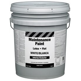 Property Advantage Flat Maintenance 5G I/E White Latex Paint (Actual Net Contents: 640-fl oz)