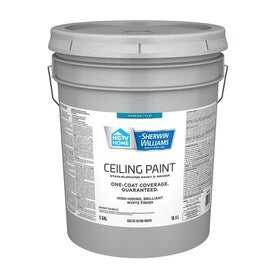 HGTV HOME by Sherwin-Williams Ceiling Flat White Latex Paint (Actual Net Contents: 640-fl oz)