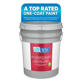 HGTV HOME by Sherwin-Williams Showcase Ultra White/Base A Flat Acrylic Tintable Paint (Actual Net Contents: 620-fl oz)