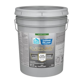 HGTV HOME by Sherwin-Williams Everlast Ultra White/Base1 Satin Exterior Tintable Paint (Actual Net Contents: 630-fl oz)