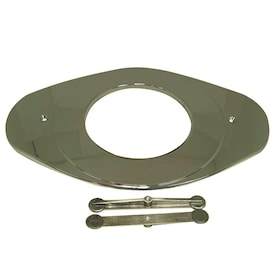 Danco 5.13-in Brushed Nickel Bathtub/Shower Deck Plate