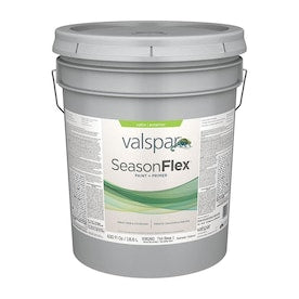 Valspar SeasonFlex Base 1 Satin Exterior Tintable Paint (Actual Net Contents: 630-fl oz)