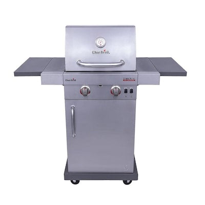 Char-Broil Commercial Stainless Steel 2-Burner Liquid Propane and Natural Gas Infrared Gas Grill