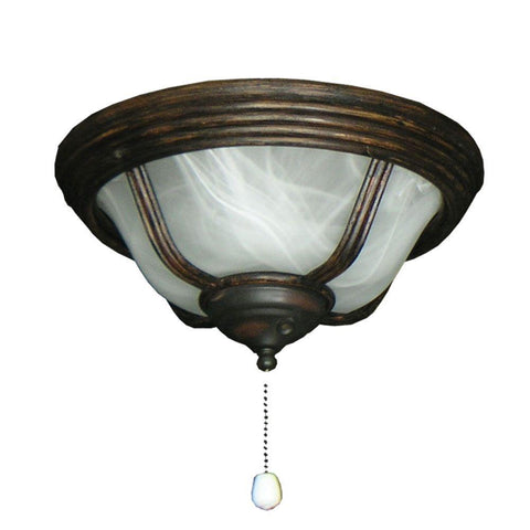 190 Cabo Night Bowl Oil Rubbed Bronze Ceiling Fan Light