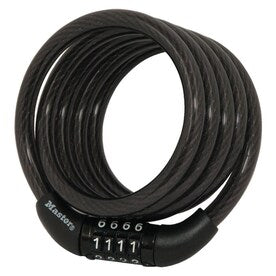 Master Lock 4-ft Long x .31-in Diameter Fixed Combination Cable Lock