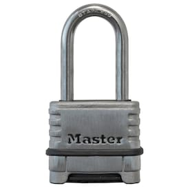 Master Lock 2.25-in Stainless Steel Combination Padlock