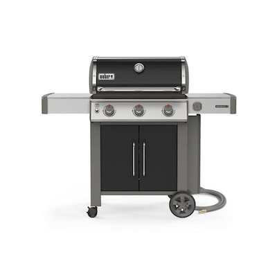 Weber Genesis II E-315 Black 3-Burner Natural Gas Grill
