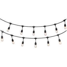 Portfolio 24-ft 12-Light Plug-In Bulbs String Lights - Hardwarestore Delivery