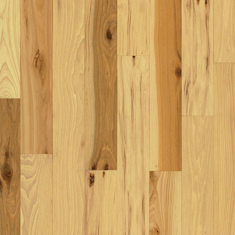 Bruce Plano Natural Hickory 3/4 in. Thick x 3-1/4 in. Wide x Random Length Solid Hardwood Flooring (22 sq. ft. / case)