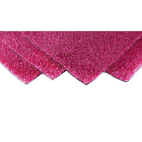 GREENLINE Pink Blend 4 ft. x 6 ft. Artificial Grass Carpet