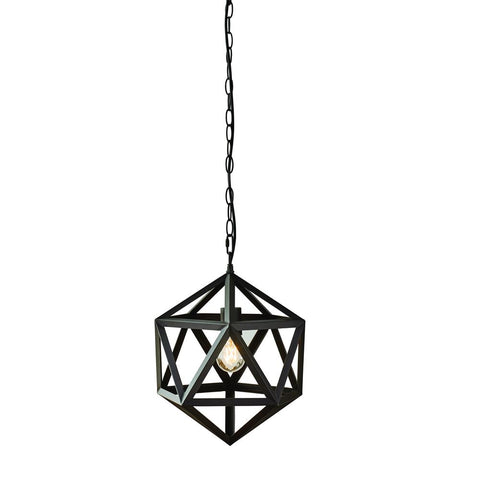 1-Light Bronze Outdoor Pendant Light (Bulb Included)