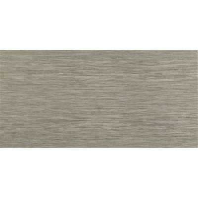 MSI      Metro Charcoal 12 in. x 24 in. Matte Porcelain Floor and Wall Tile (16 sq. ft./case)