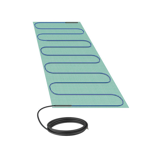 WarmlyYours TempZone 3 ft. x 11.5 in. 120-Volt Radiant Floor Heating Mat for Shower Bench (Covers 2.9 sq. ft.)