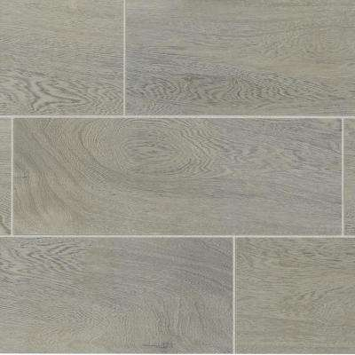 TrafficMASTER      Glenwood Fog 7 in. x 20 in. Ceramic Floor and Wall Tile (10.89 sq. ft. / case)