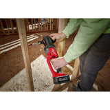 M18 FUEL 18-Volt Lithium-Ion Brushless Cordless 1/2 in. Hole Hawg Right Angle Drill Kit with Quick-Lok (Tool-Only)