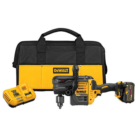 FLEXVOLT 60-Volt MAX Lithium-Ion Cordless Brushless 1/2 in. Stud and Joist Drill with Battery 2.0Ah, Charger & Tool Bag