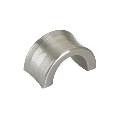Concentric 1-1/4 in. (32 mm) Satin Nickel Cabinet Finger Pull