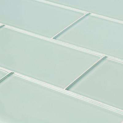 Jeffrey Court      Siberian Gloss 11.625 in. x 11.75 in. x 8 mm Interlocking Glass Mosaic Tile