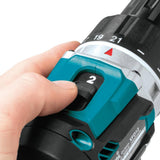 18-Volt LXT Lithium-Ion Compact Brushless Cordless 1/2 in. Driver-Drill Kit with Two 5.0 Ah Batteries, Charger Hard Case
