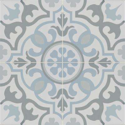 Exclusive         MSI      Blume Encaustic 8 in. x 8 in. Matte Porcelain Floor and Wall Tile (5.33 sq. ft. / case)