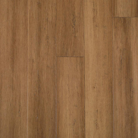 Home Decorators Collection Hand Scraped Strand Woven Light Taupe 3/8 in. T x 5-1/8 in. W x 36 in. L Engineered Click Bamboo Flooring