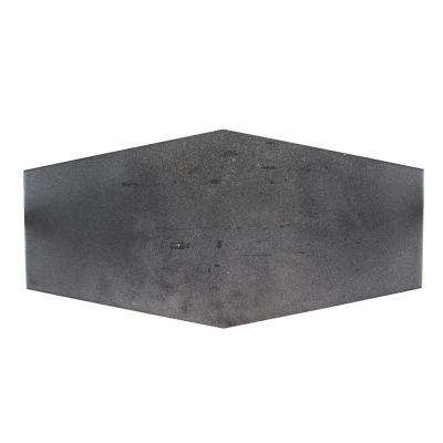 Jeffrey Court      Castle Rock Gray 9.5 in. x 19.25 in. Matte Porcelain Hexagon Floor and Wall Tile (12.15 sq. ft. / case)
