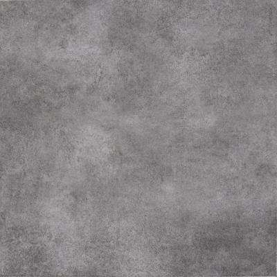 TrafficMASTER      Lismori Grigio 12 in. x 12 in. Matte Ceramic Floor and Wall Tile (20.37 sq. ft. / case)