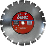 Quasar Speed Kut 100 Silver 14 in. Laser-Welded Supreme Segmented Diamond Blade
