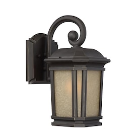 Quoizel Corrigan 13.25-in H Bronze Medium Base (E-26) Outdoor Wall Light - Hardwarestore Delivery