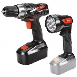 18V 3/8 in. Cordless Drill/Driver And Flashlight Kit