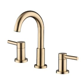 Jacuzzi Duncan Brushed Bronze 2-Handle Widespread WaterSense Bathroom Sink Faucet with Drain