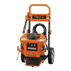 Generac OneWash 3100 PSI 2.8-Gallon-GPM Cold Water Gas Pressure Washer with Engine