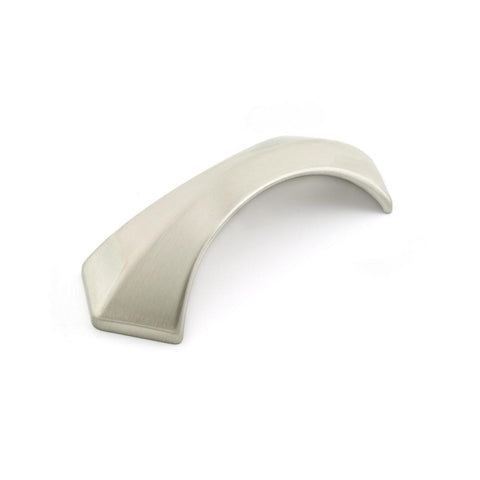 3-3/4 in. (96 mm) Brushed Nickel Transitional Drawer Pull