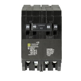 Square D Homeline 40-Amp 4-Pole Quad Circuit Breaker - Hardwarestore Delivery